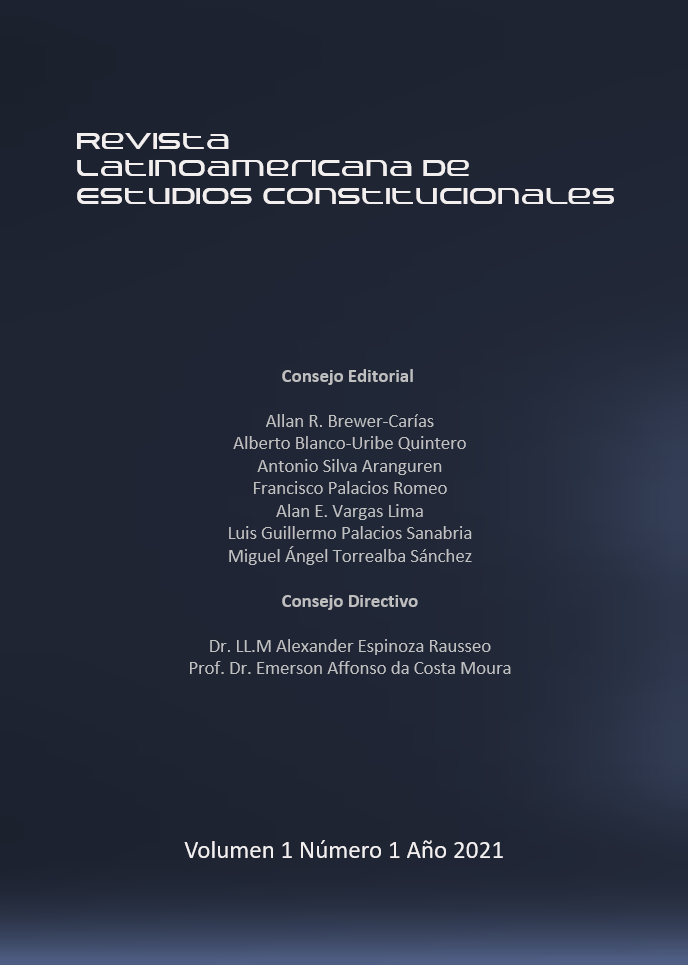 Ver Vol. 1 Núm. 1 (2021)
